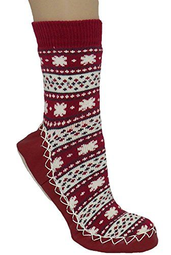 Konfetti Dragon Fire Slipper Sock Swedish Moccasin