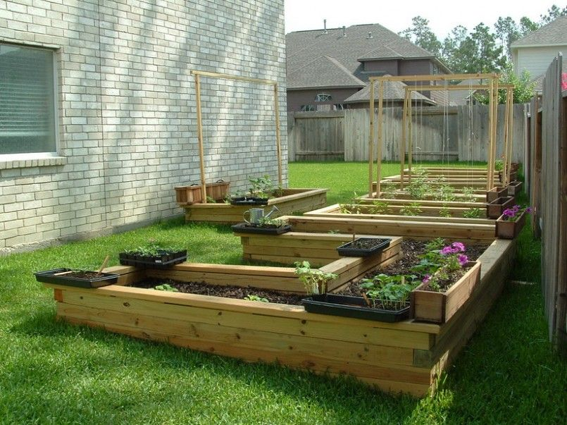 home garden vegetables ideas source 4 - Home Vegetable Garden Design