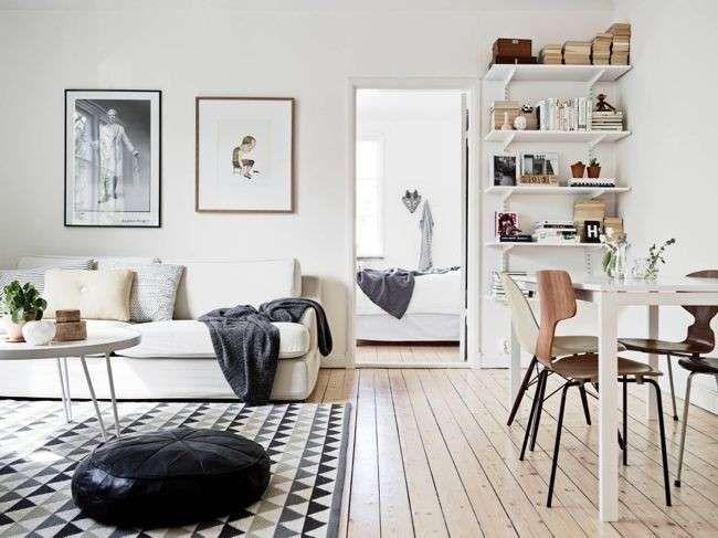 Come arredare il soggiorno in stile nordico, ispirazioni minimal e ...