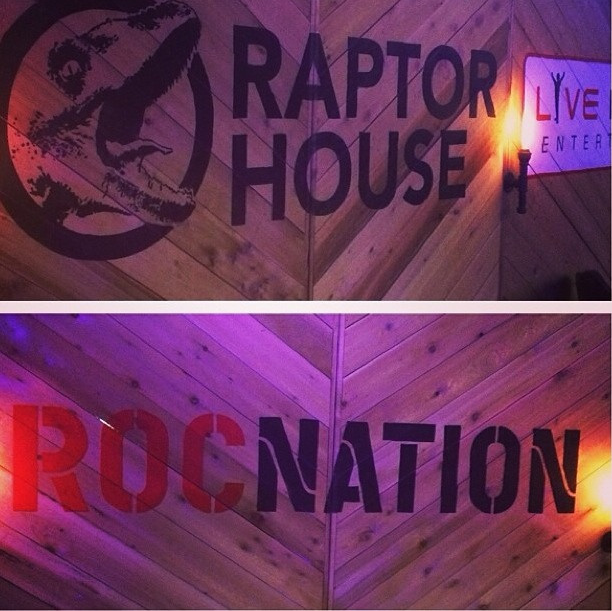 Roc Nation's Raptor House at Arlyn Studios, SXSW 2014