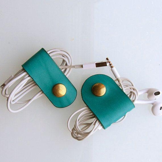 Earbud / earphone / cable organizers handmade by RinartsAtelier