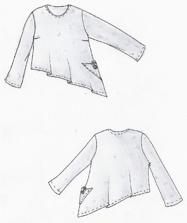 Der Wohlfuhlpulli Auch Fur Nahanfanger Geeignet Ein Langarm Pulli Mit Rundem Halsausschnitt Zwei Kle Lagenlook Patterns Easy Sewing Patterns Upcycle Sewing