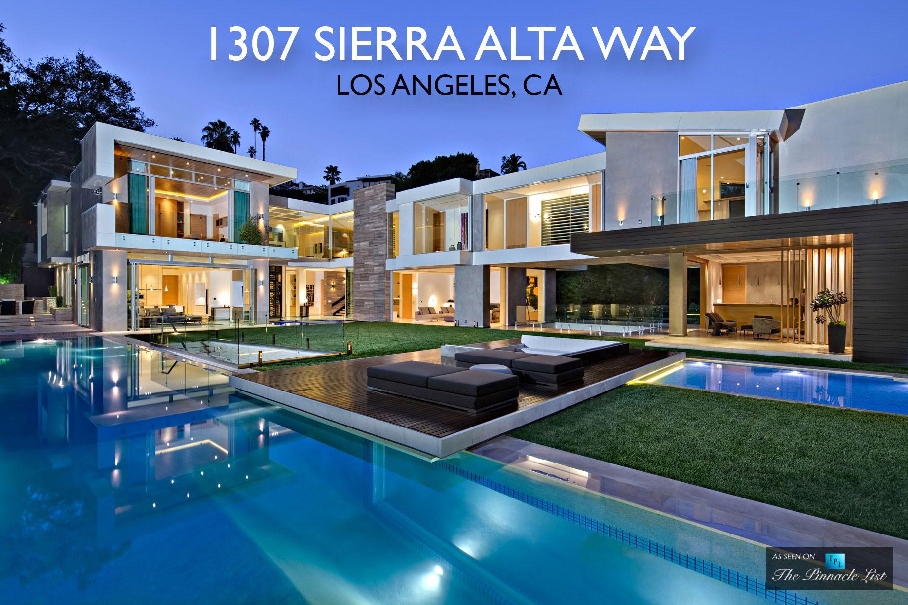 Luxury residence 1307 sierra alta way los angeles ca
