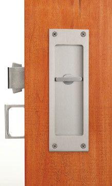 Pocket Door Locks And Flush Pulls Contemporary