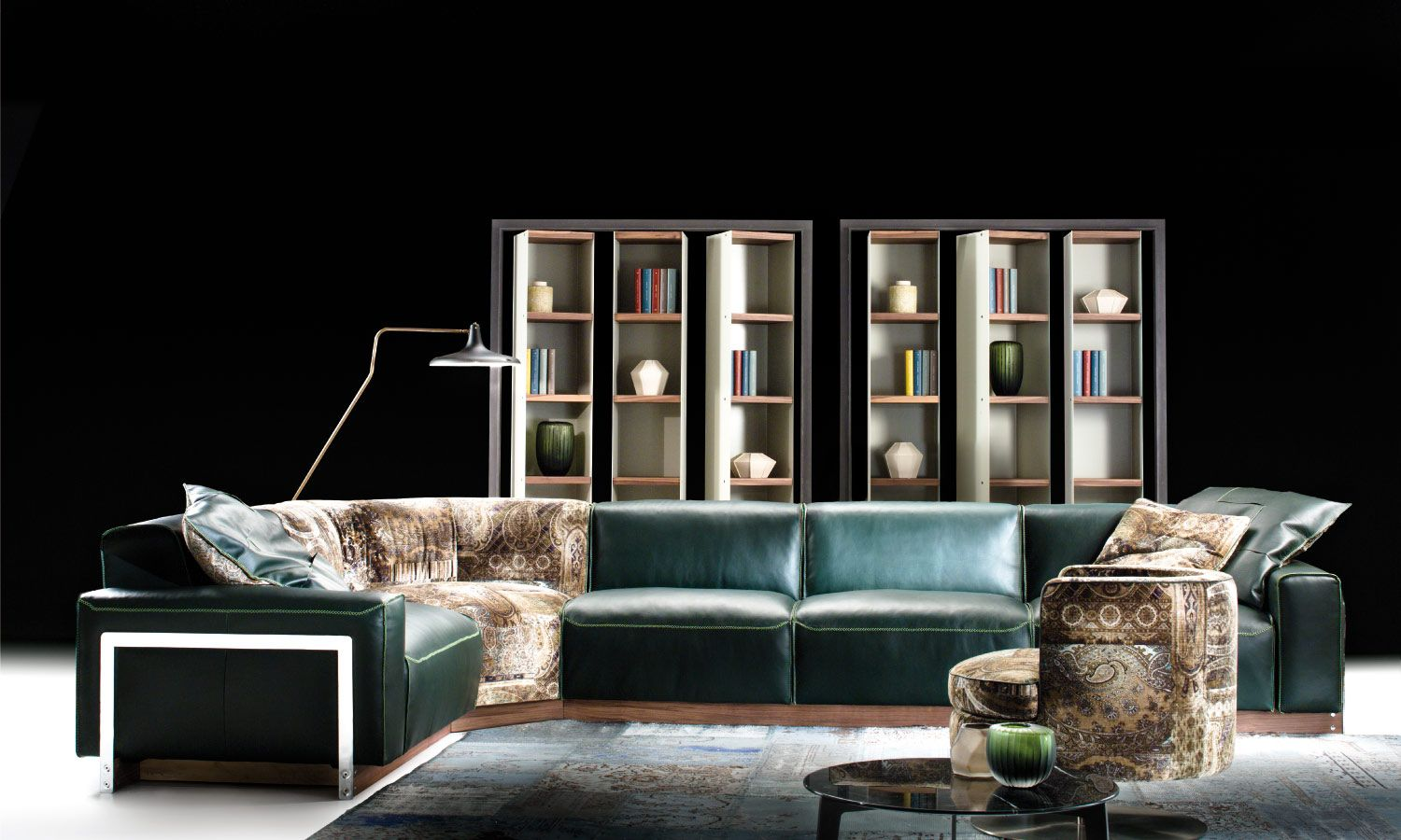 aston sectional by borzalino enriched with fabric from fashion rh pinterest com