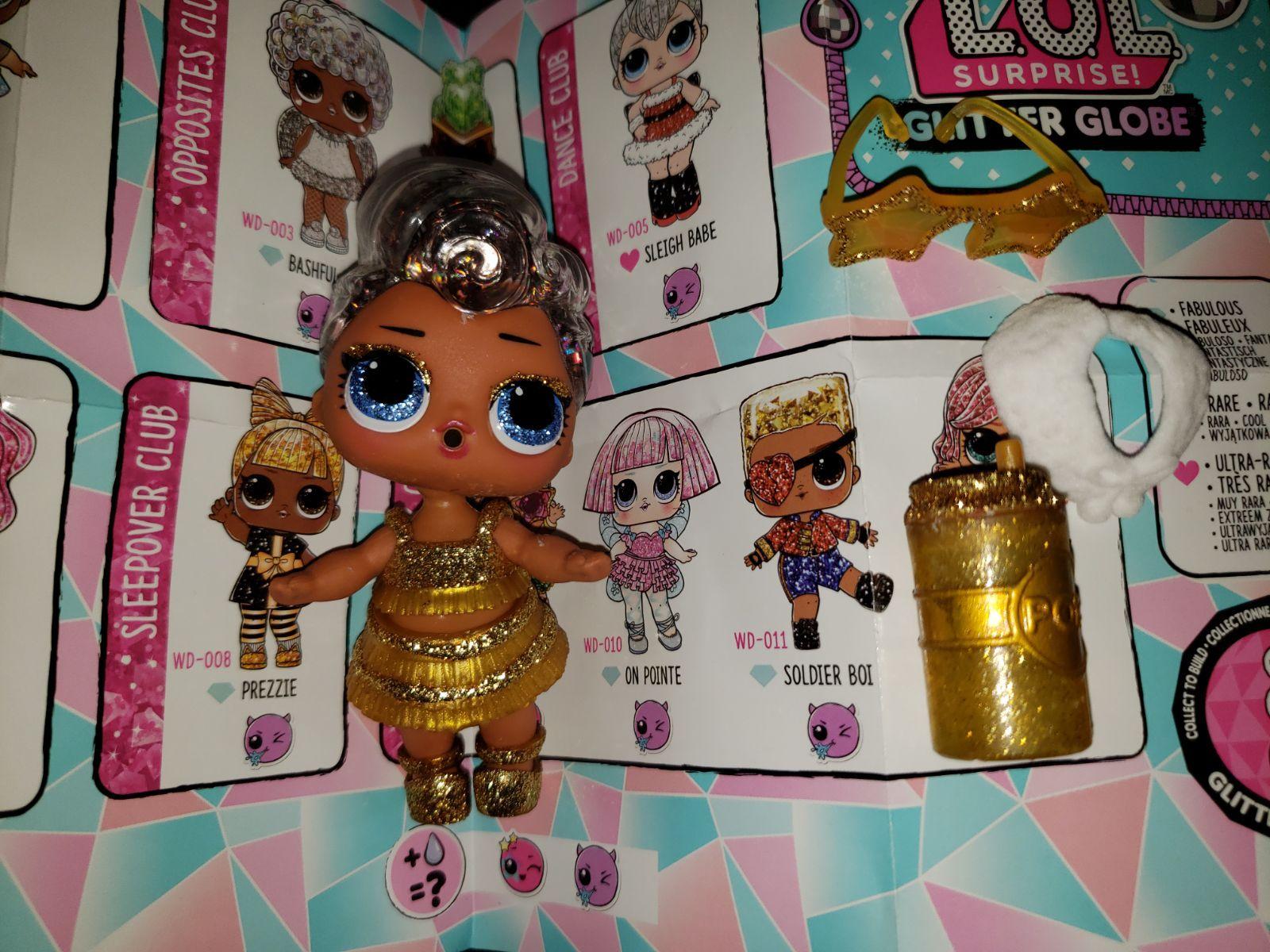 LOL Surprise Doll Glitter Series Fresh Gold Ball
