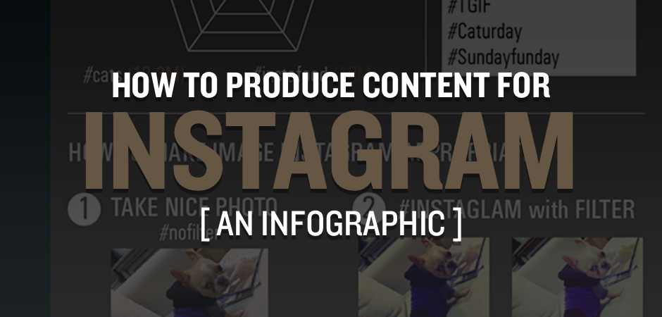 [Infographic] #HowTo Produce #Content for #Instagram