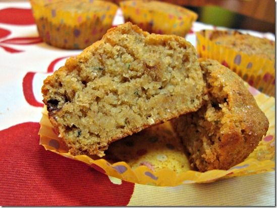 The New Healthy: Healthier Chocolate Chip Zucchini Bread (and muffi...