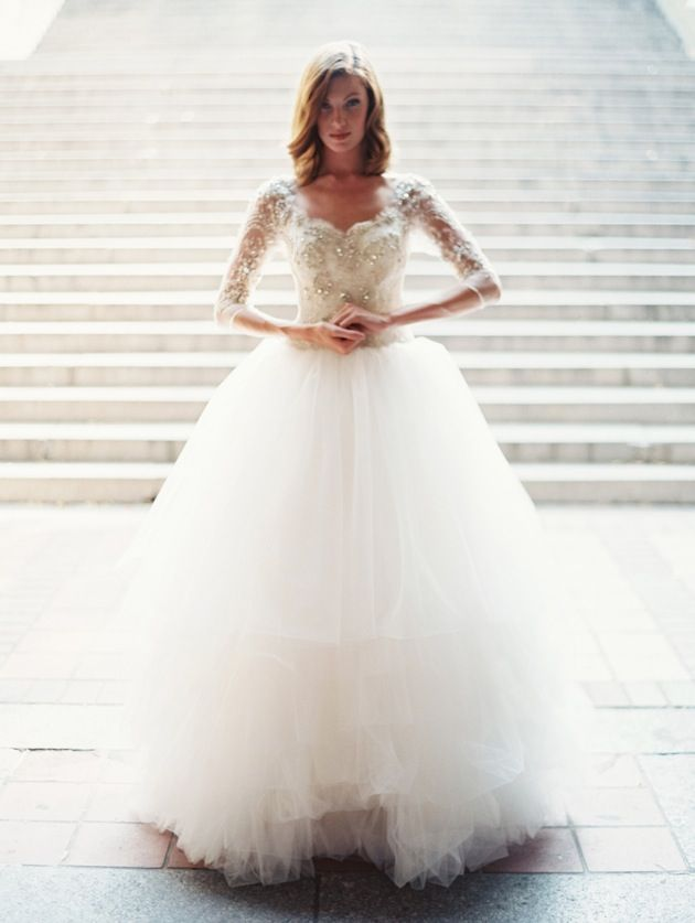 10736e9bfdfa 30 Gorgeous Lace Sleeve Wedding DressesBridal Musings Wedding Blog. ALL OF  THESE.
