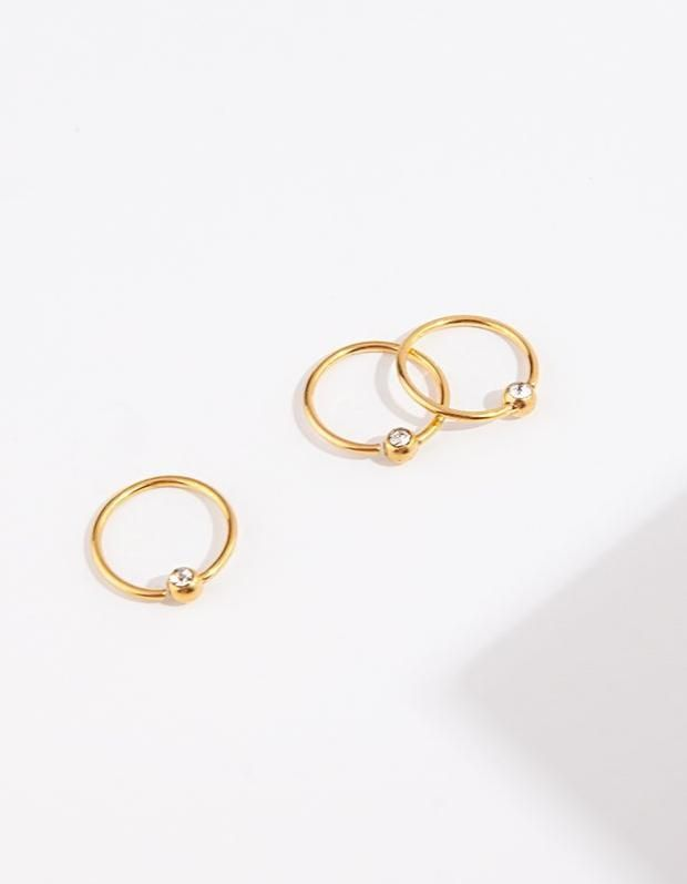 Jewelry & Watches Gold Celestial Moon Cartilage Earring By Lovisa Fashion Jewelry