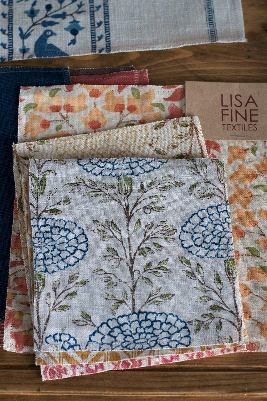 Lisa Fine Textiles Fabric Wallpaper Textile Patterns Linen Fabric