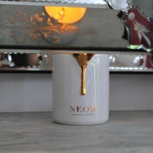 Neom Organics skin treatment candle