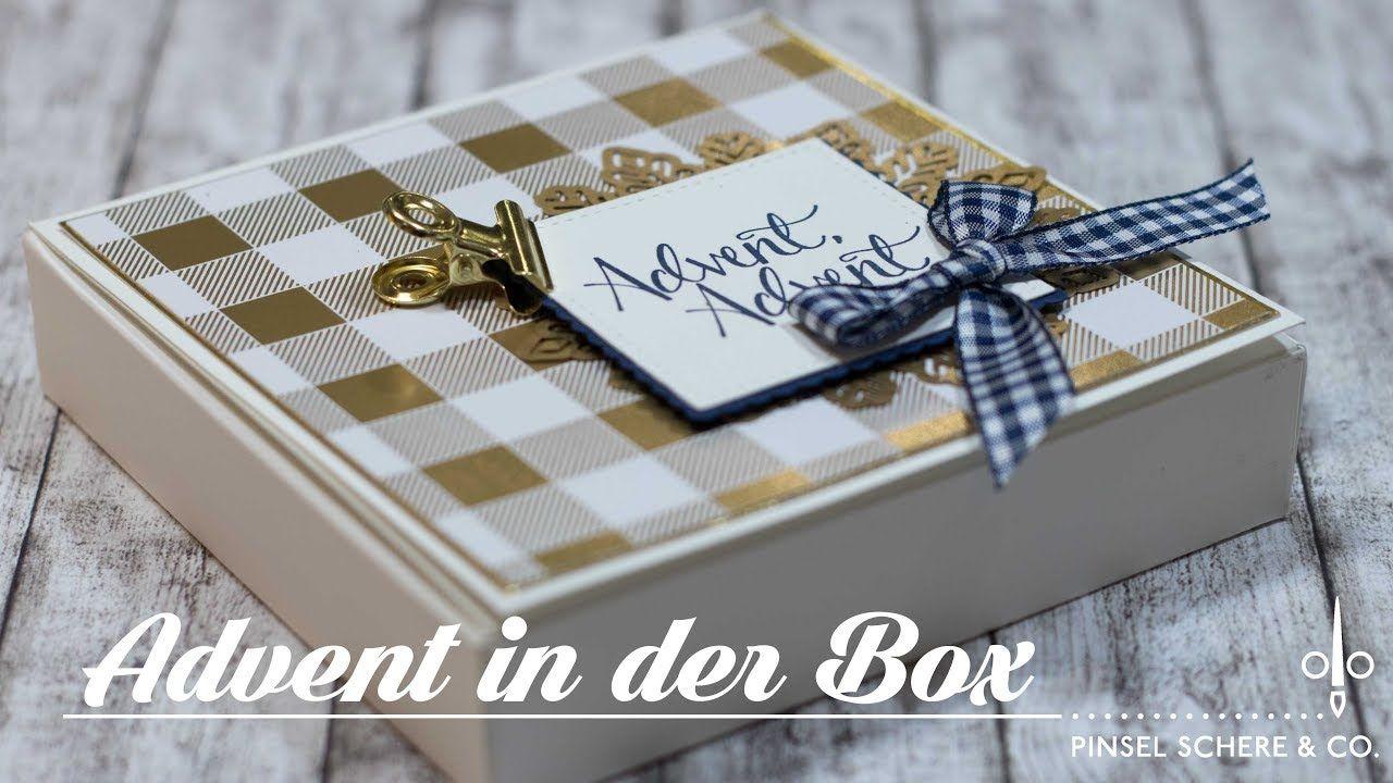 Advent in der box adventskranz to go duftteelichte adventlich