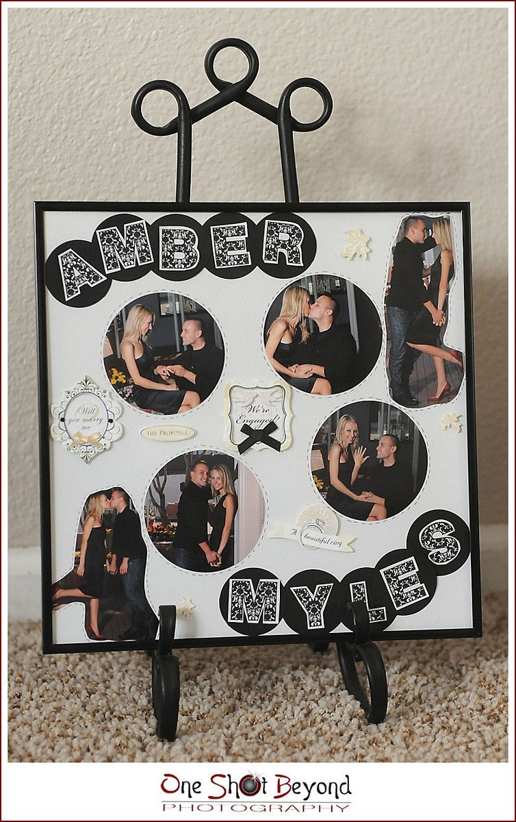 Photo Gifts, DIY Style Engagement gifts, Photo gifts diy