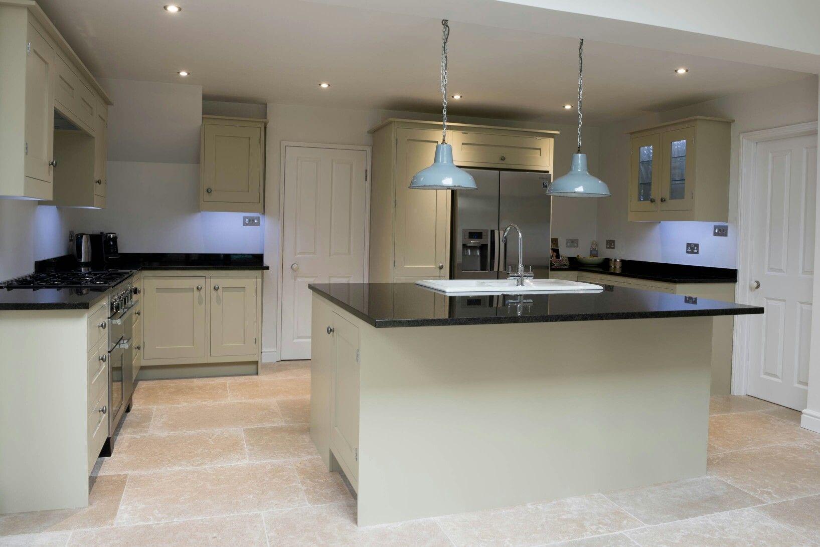 Inframe shaker style furniture bespoke kitchen furniture by