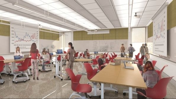 Classroom Design Higher Education : Reinventing the college campus via multidisciplinary