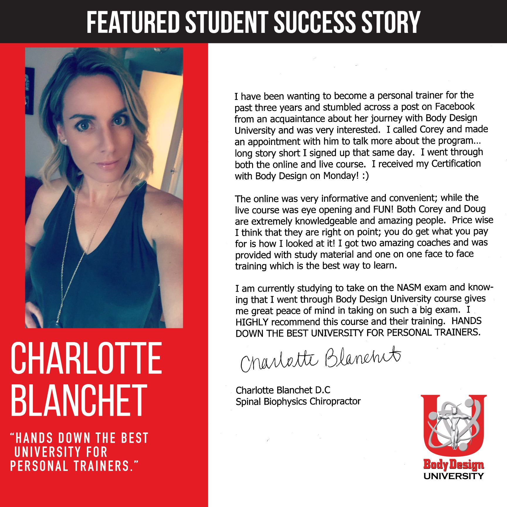 Hands Down The Best University For Personal Trainers Charlotte