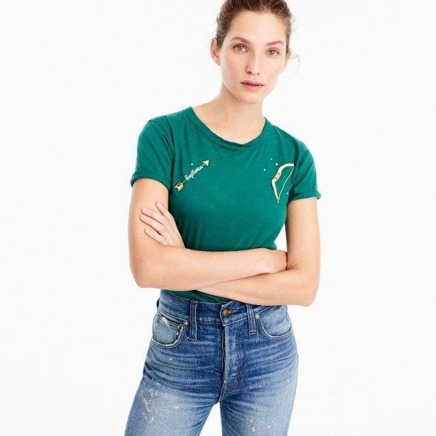 "Horoscope T-shirt in ""Sagittarius"""
