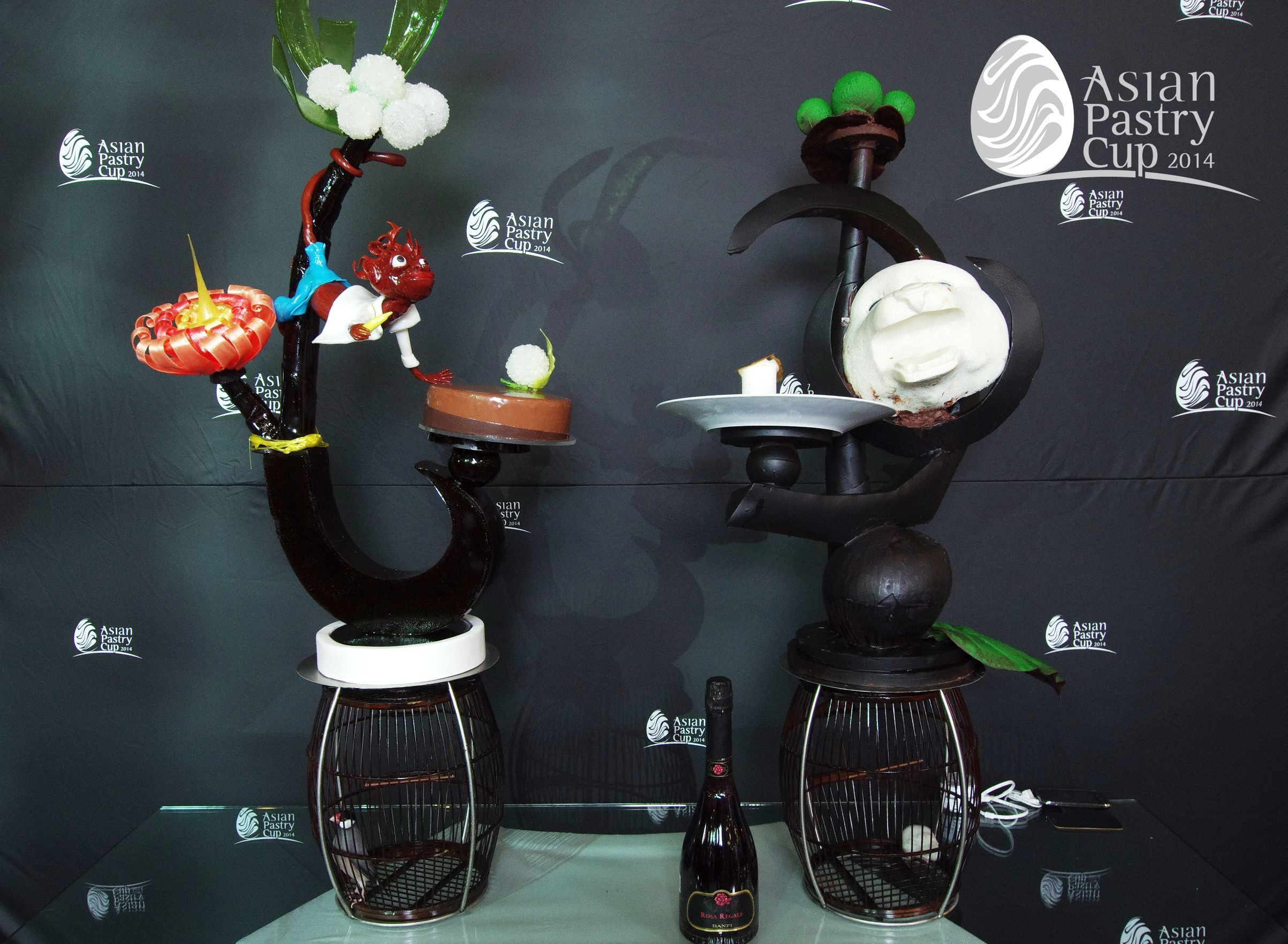 ASIAN PASTRY CUP 2014 : Official Buffet - Indonesia