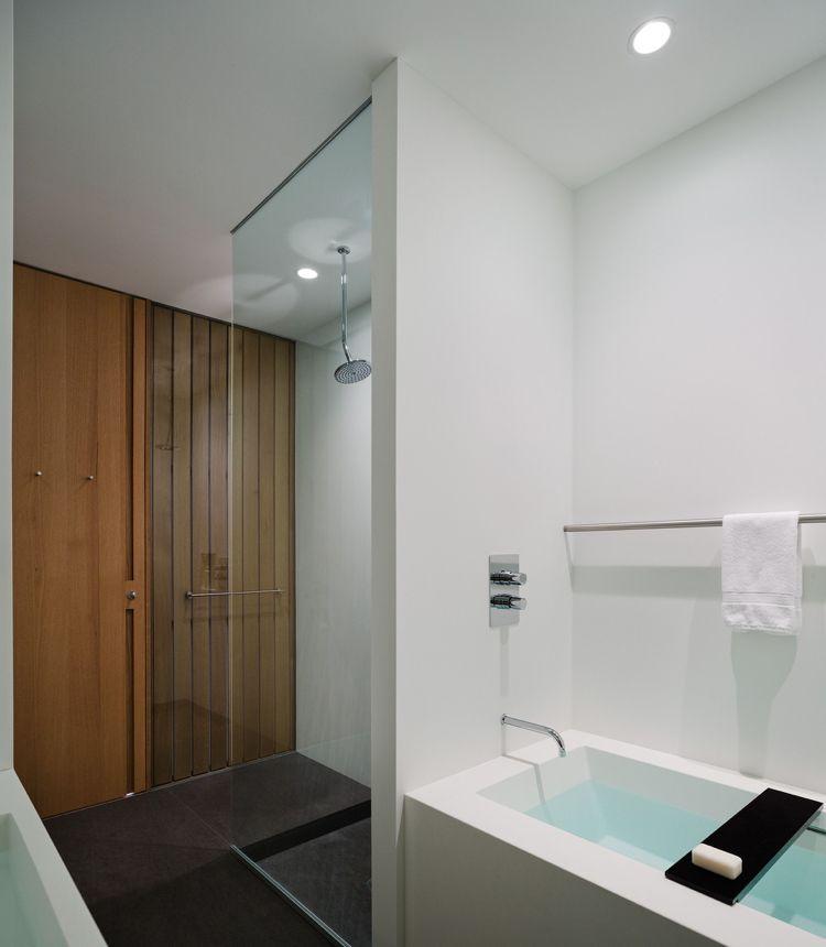 Badezimmer Badewanne Walk in Dusche Badezimmer Ideen Pinterest - freistehende badewanne raffinierten look