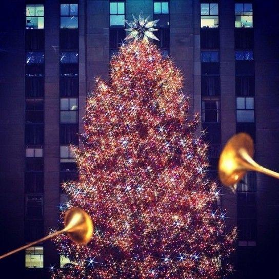Albero Di Natale New York.Albero Di Natale Swarovski A New York New York Dreaming