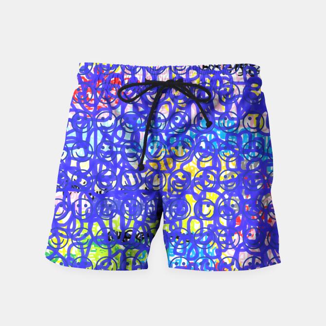 Aventura Feliz Pantalones De Bano Ropa De Playa Hombre Pantalonetas Hombre Moda Hombre Verano
