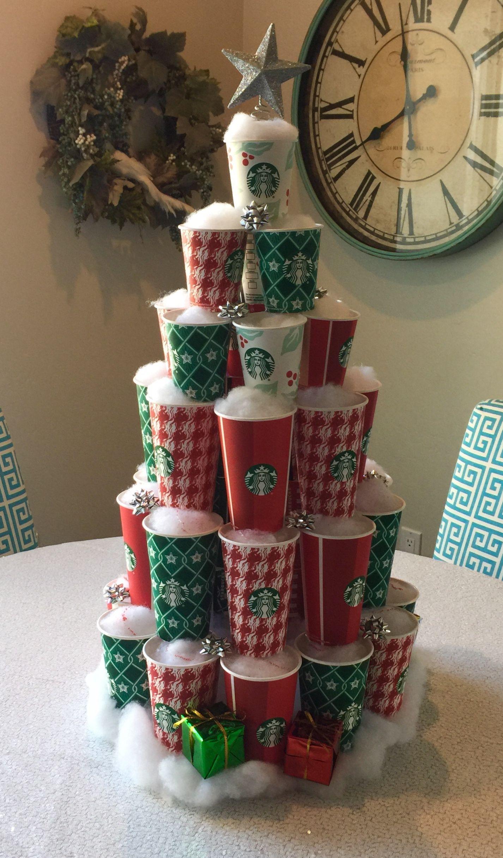 My Starbucks Cup Christmas Tree Diy Christmas Tree Starbucks Christmas Cups Christmas Diy