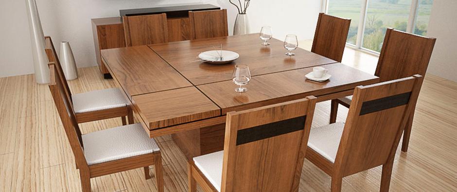 Comedores modernos buscar con google ideas para el for Muebles modernos para comedores pequenos