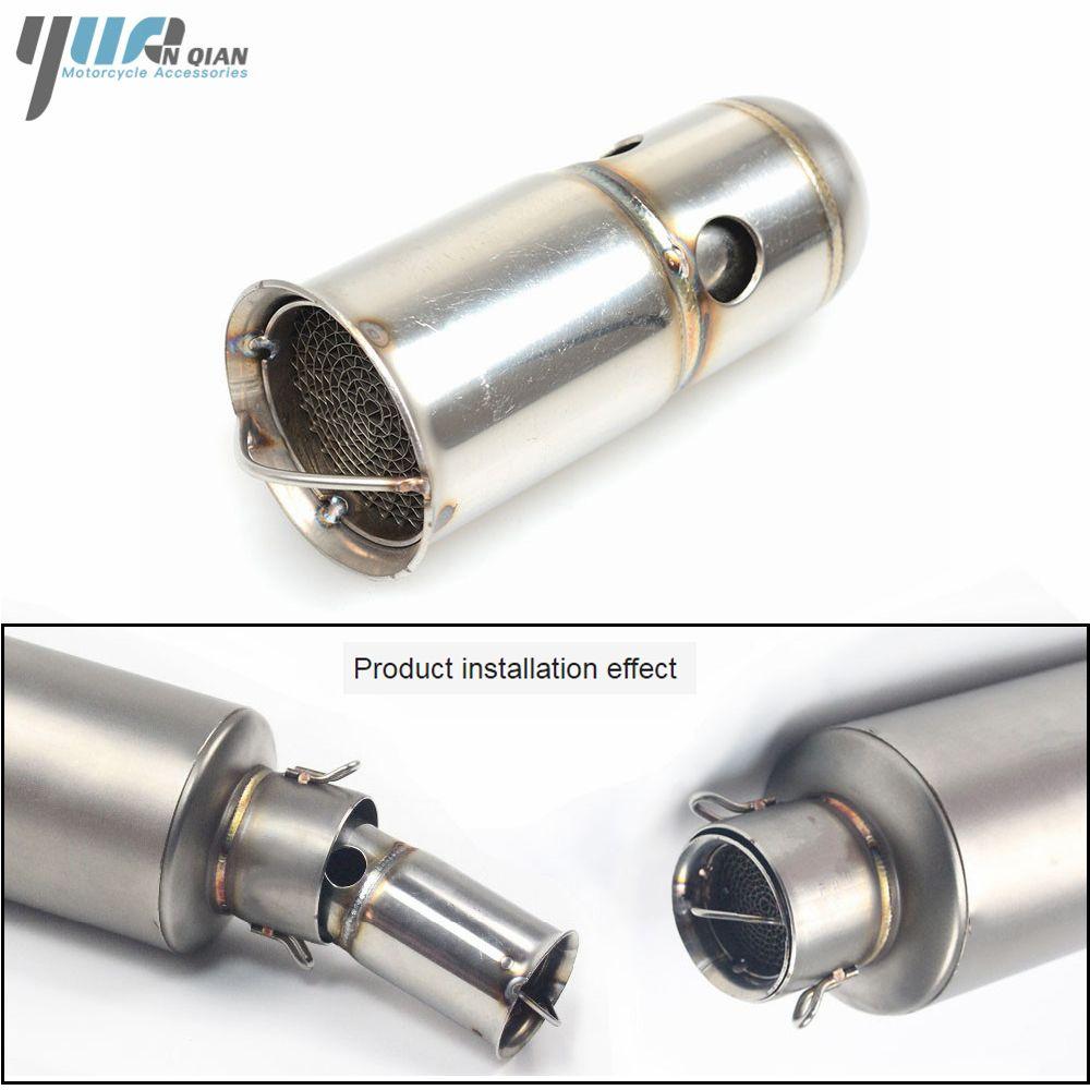 Universal DB Killer Exhaust Muffler Silencer Noise Sound Eliminator Motorcycle