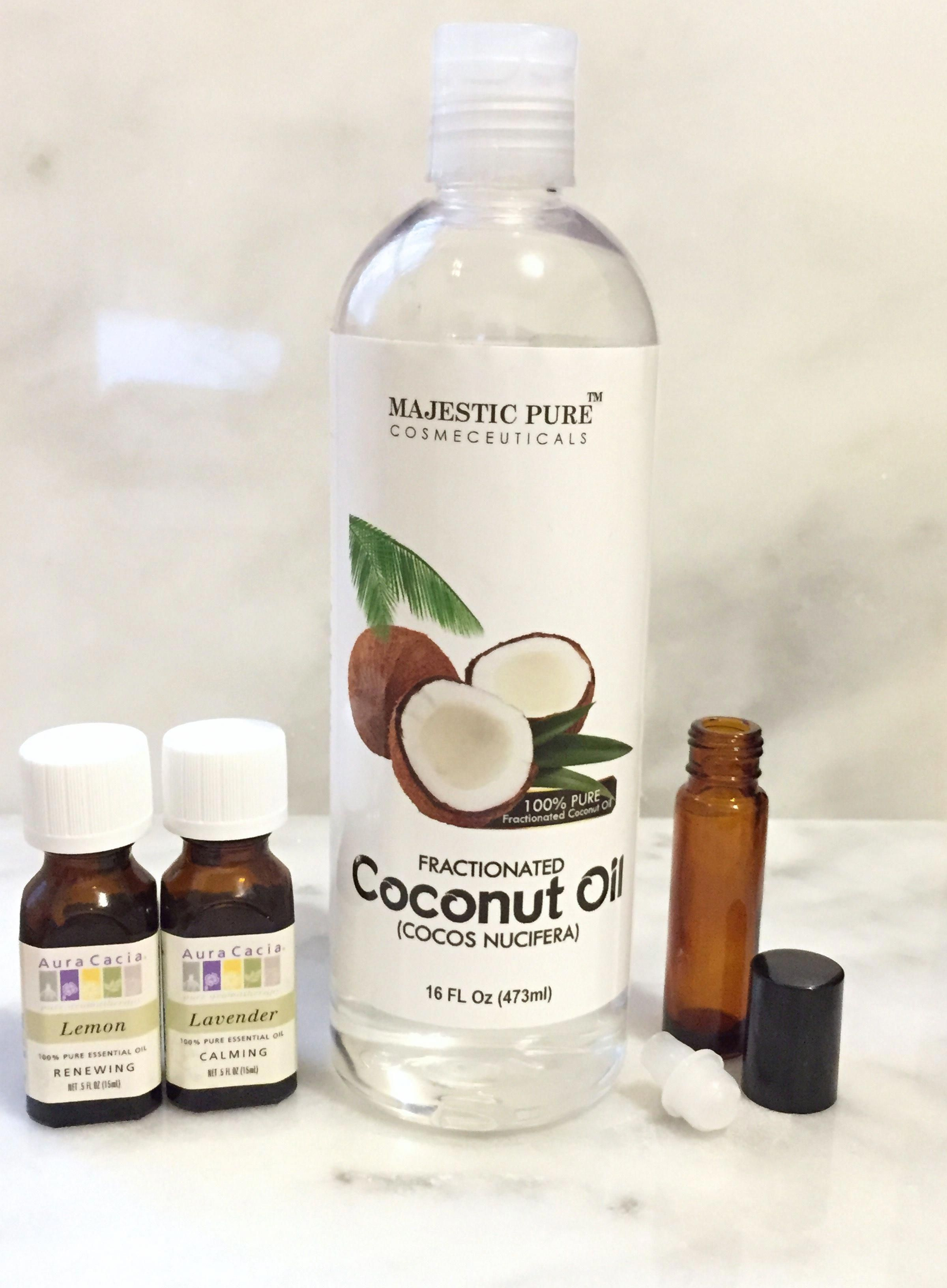 how to remove eyelash extensions with coconut oil