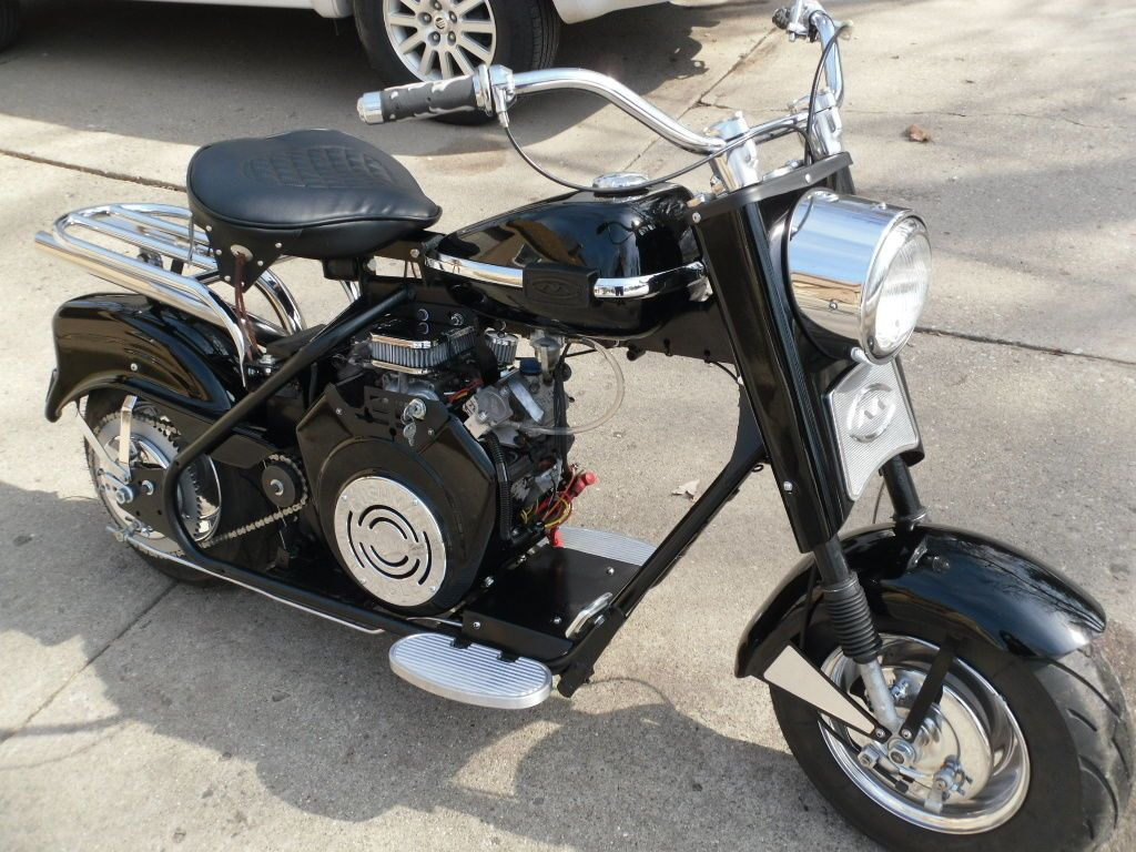 Cushman Eagle 1961 Vanguard Automatic Scooter 21hp V Twin Electric