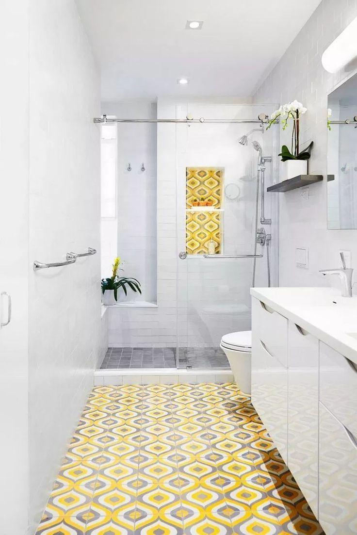 fantastic screen bathroom tiles yellow strategies with