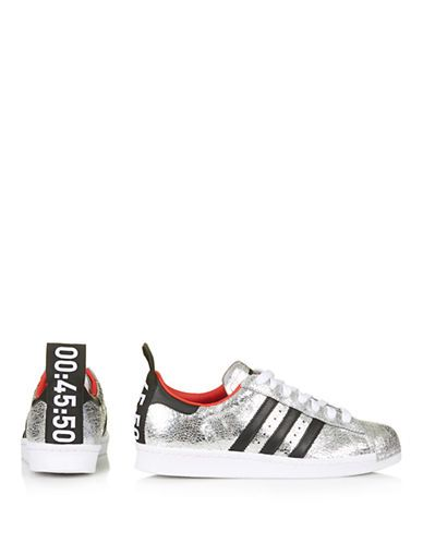 Premium adidas superstars 80's style trainers by Topshop