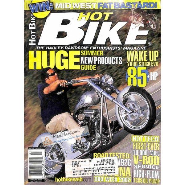 Hot Bike Magazine July 2002 8 72 Bike Magazine Hot Bikes Bike