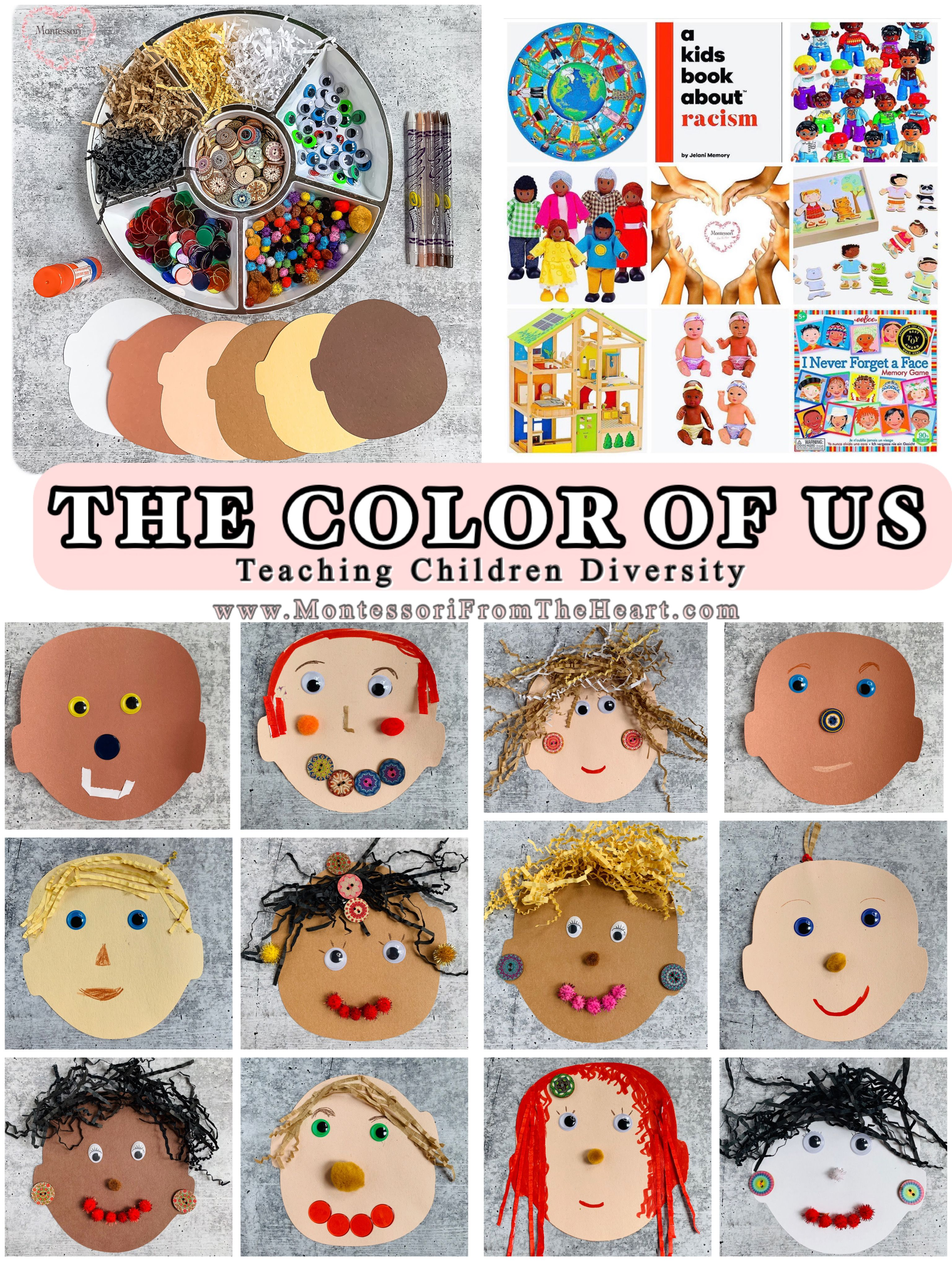 Kids Multicultural Diversity Materials | Montessori From ...