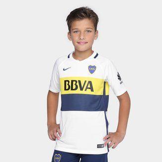 Camiseta Nike Boca Juniors Alternativa Stadium 2016 17 Infantil - Comprá  Ahora  bdf01ec1a33e0