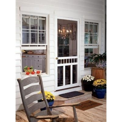 Wooden Screen Doors Home Depot | ... Vinyl Screen Door 32 Inch x ...