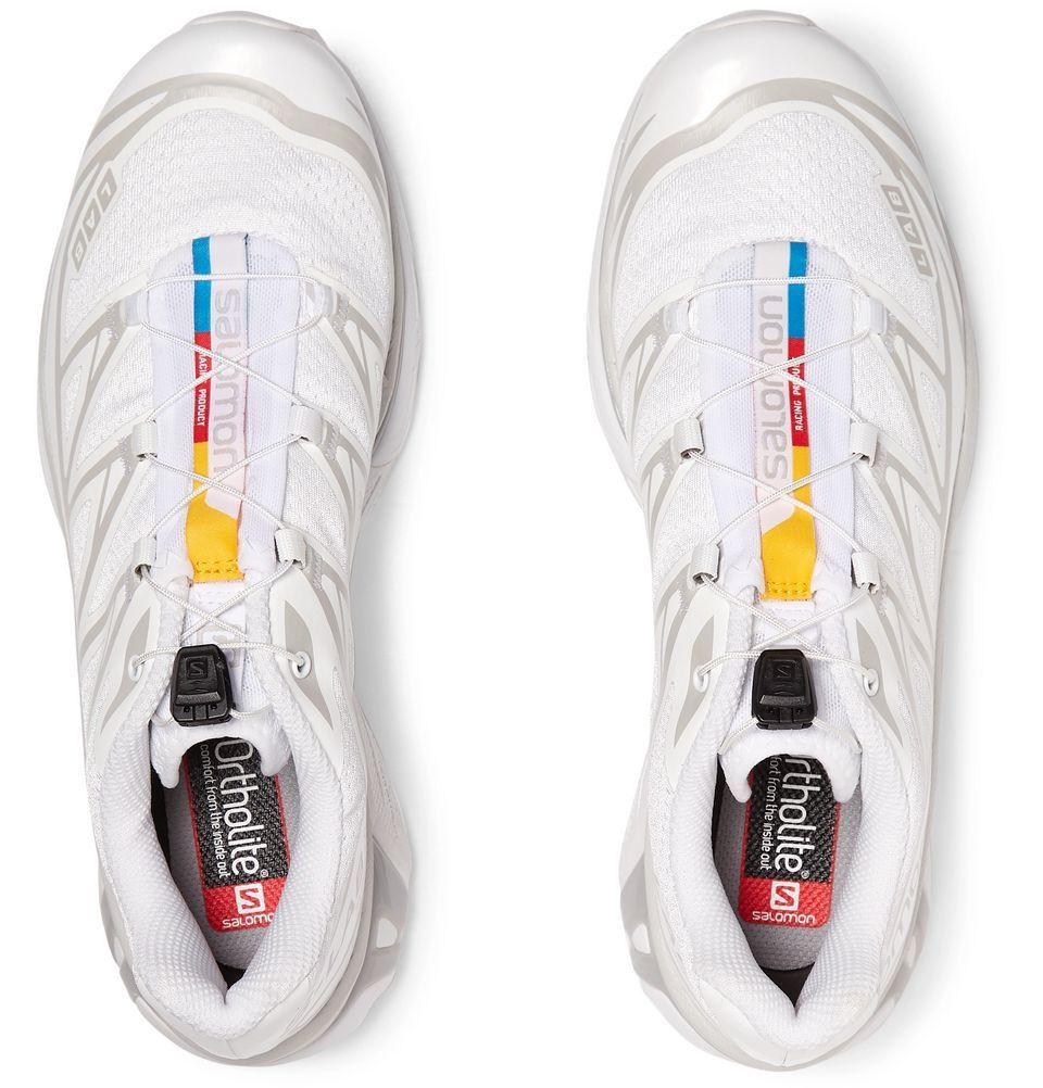 White S Lab Xt 6 Lt Adv Mesh And Rubber Running Sneakers Salomon Mr Porter Running Sneakers Sneakers Salomon
