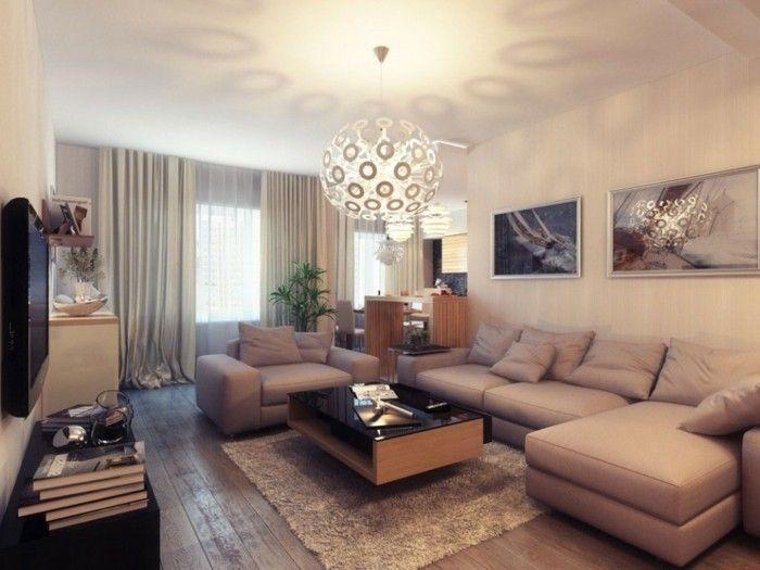 Moderne Lampen 66 : Wohnzimmer lampen u ausgefallene ideen für die beleuchtung des