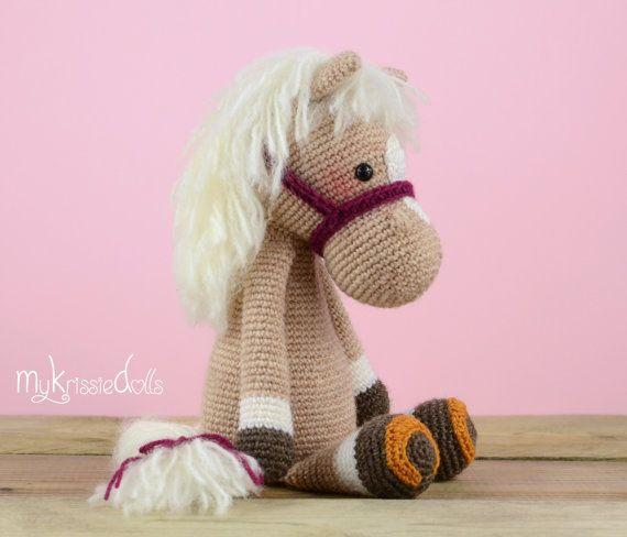 Crochet Pattern Horse Piem Crochetknitting Pinterest