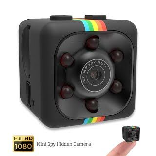 Mini Spy Hidden Camera 360z Security Nanny Dash Cam With Motion Detection And Night Vision Full Hd 1080p Small Portable Indoor Outdoor For Home