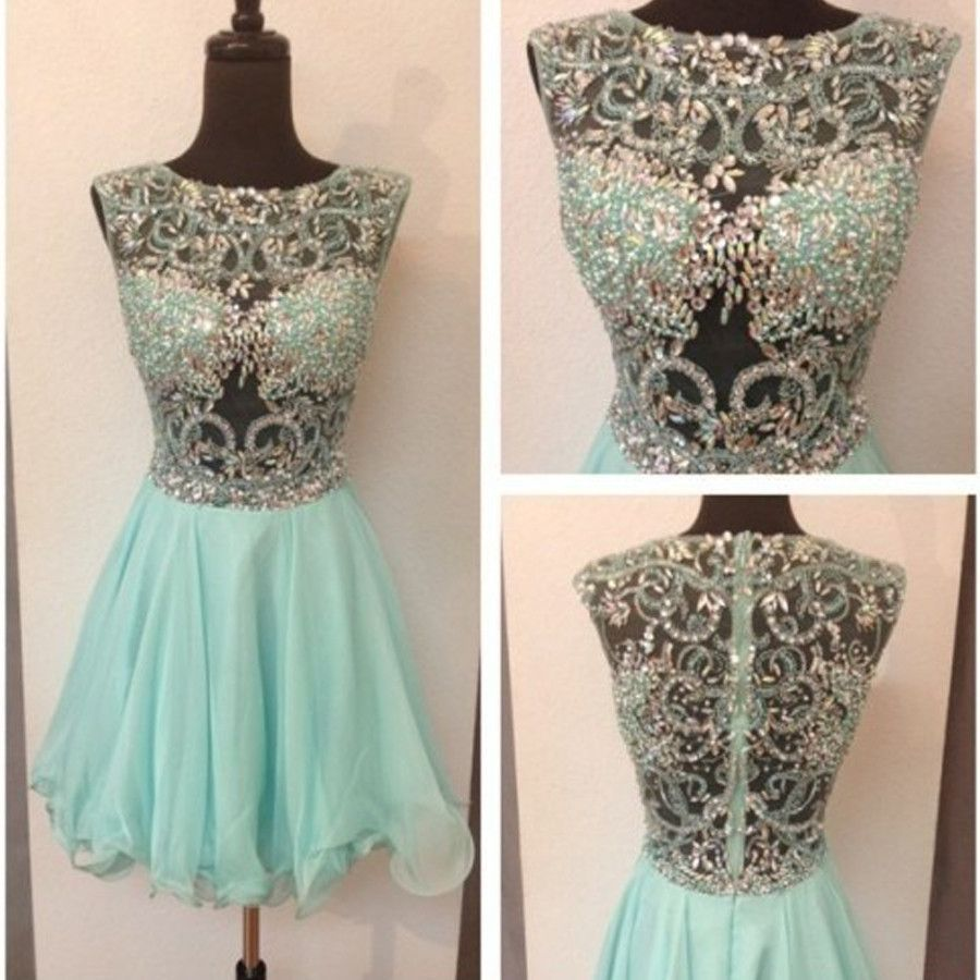 New arrival mint gorgeous freshman formal cocktail homecoming prom