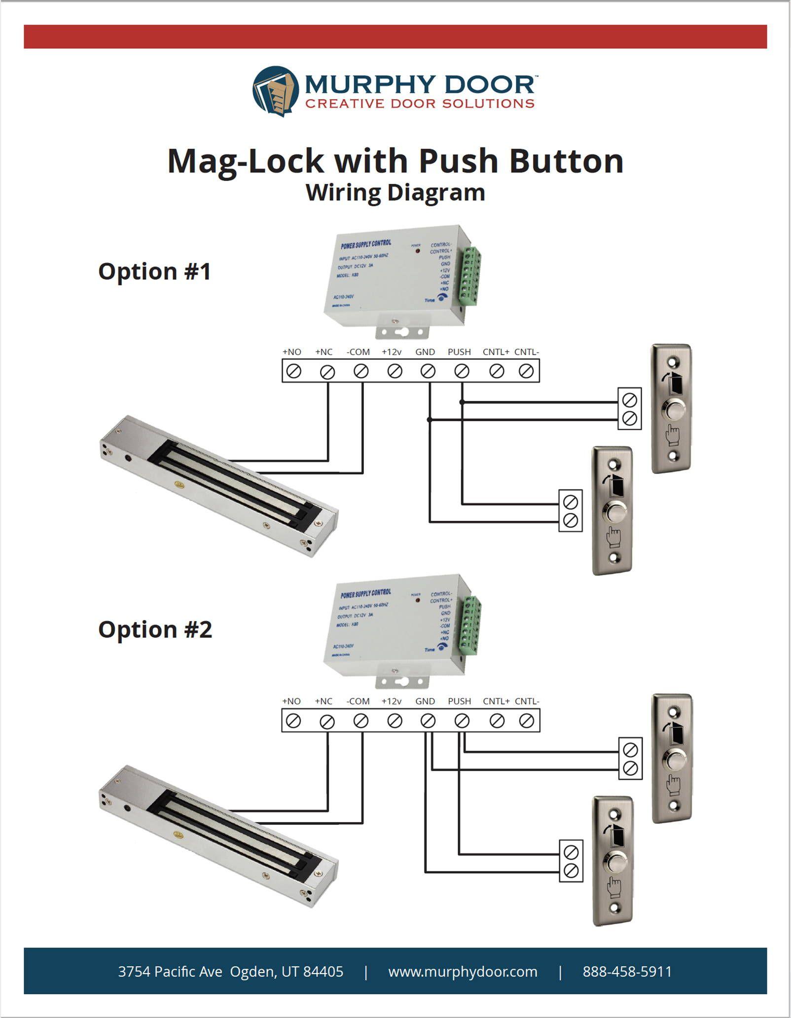 Instruction Manuals In 2020 Murphy Door Electromagnetic Lock Shop Doors