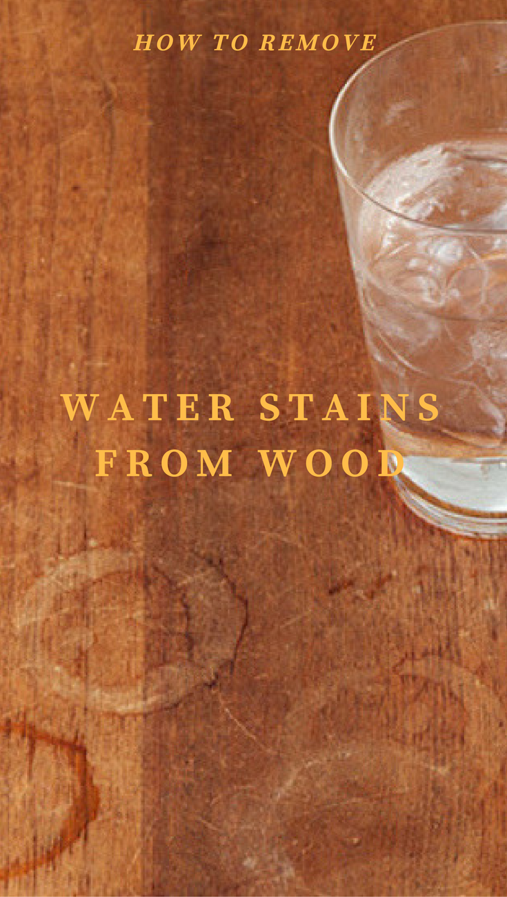 Water Stains Or Hard Water Spots Are Caused By Minerals And Can Be