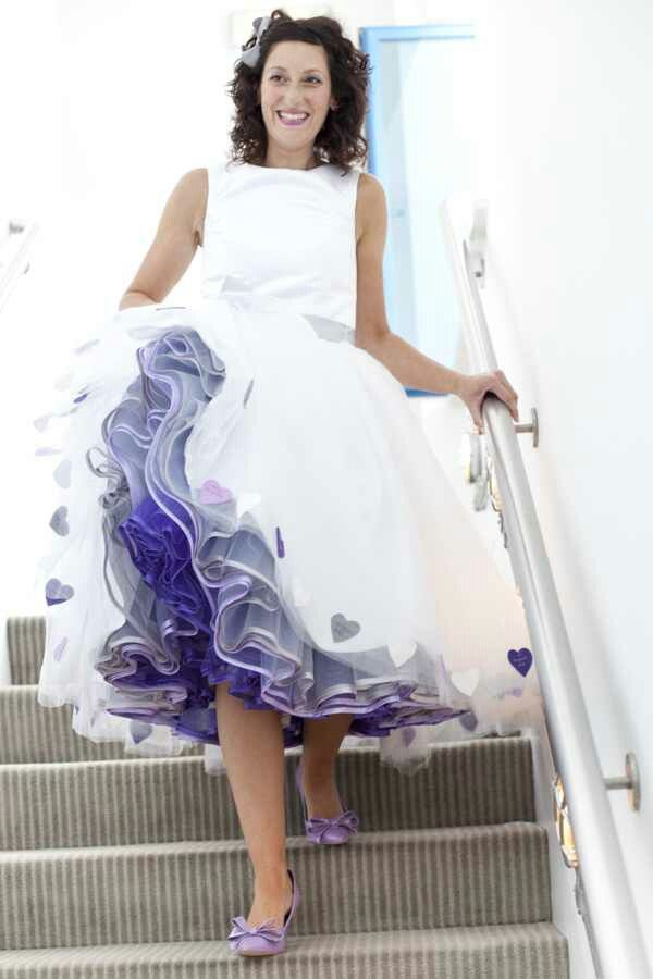 Lovely petticoat under her dress petticoats polka dots for Petticoat under wedding dress