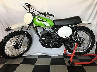 eBay: 1976 Kawasaki KX 1976 Kawasaki KX125 Stunning