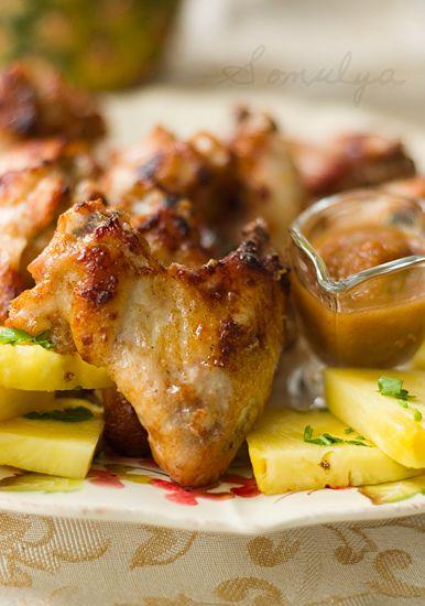 Куриные крылышки в роме с ямайским перцем (с изображениями ...