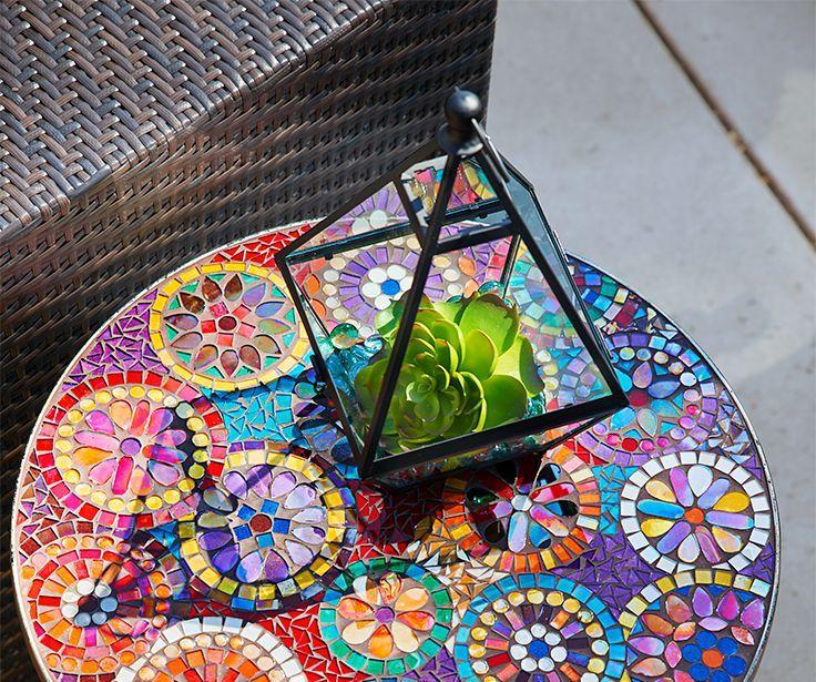 Стол из мозаики своими руками - фото и инструкция Своими 90