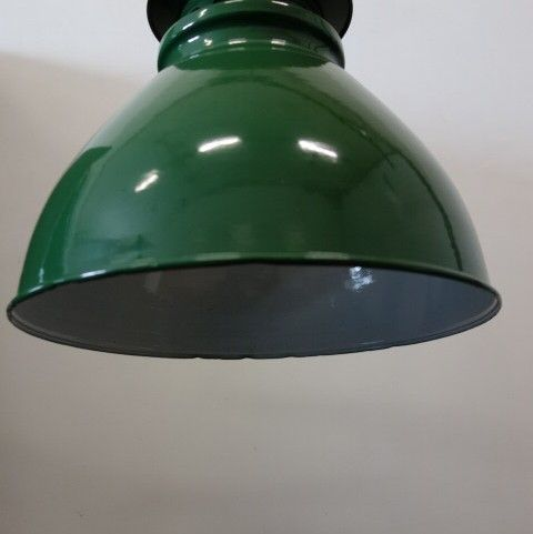 Emaille fabriekslamp +  industrieel  + retro en vintage design meubels (11)