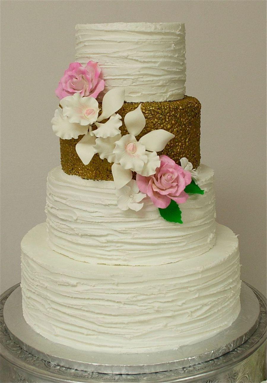 Textured Royal Icing Wedding Cake | Wedding Dress | Pinterest ...